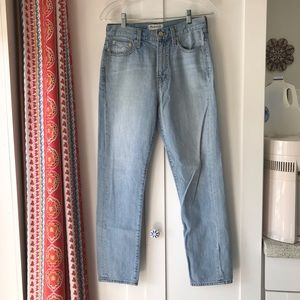 MADEWELL Perfect Summer Jean, 26